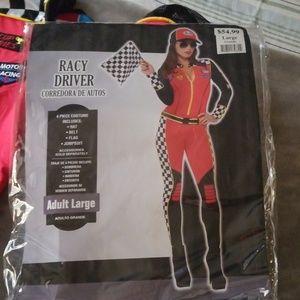 Halloween costume! Racy driver Large !!!